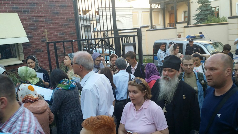 Молитвенное стояние в Москве