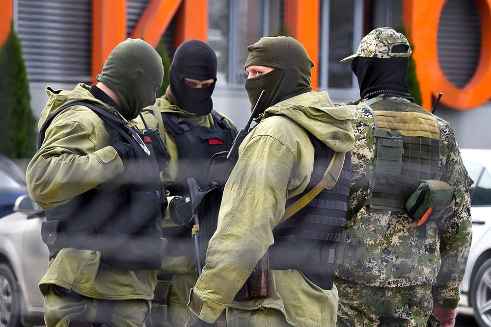 Сотрудники ФСБ в Крыму