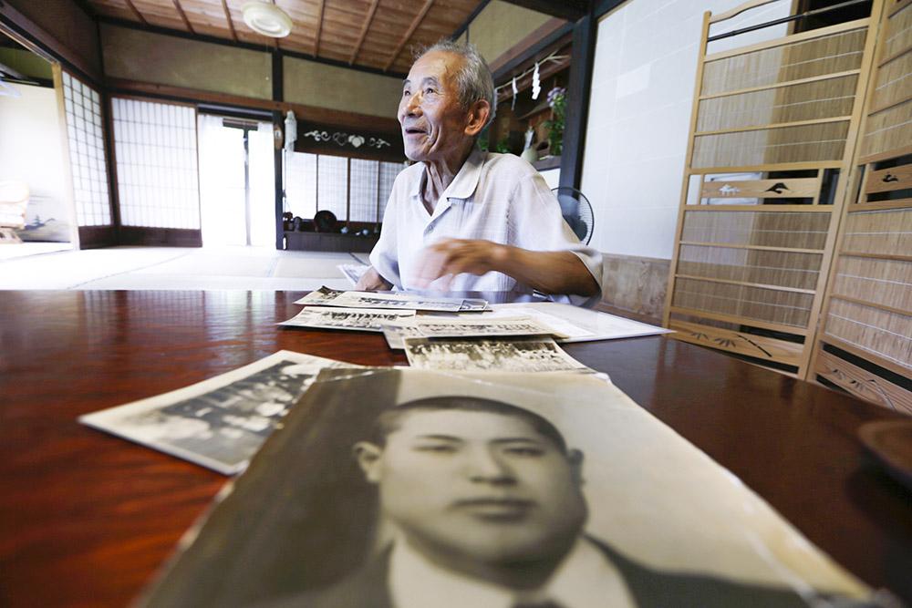 87-летний фермер Татсуя Ясуе — брат погибшего японского солдата