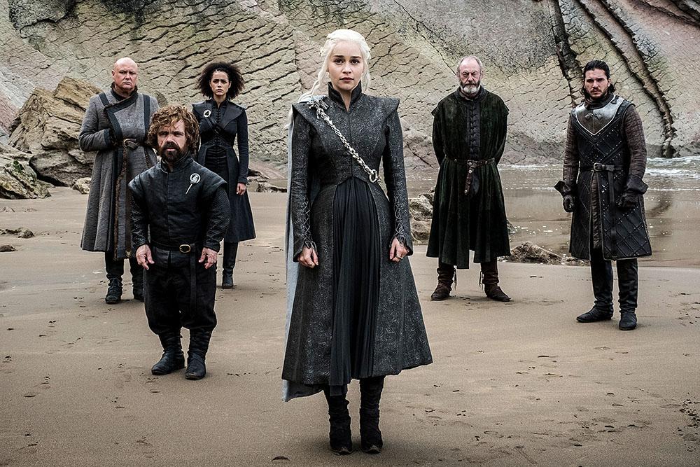 Кадр из 4 серии 7 сезона сериала «Игра престолов»