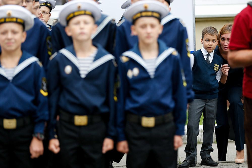 Кадетский морской корпус Андрея Первозванного в Калининграде