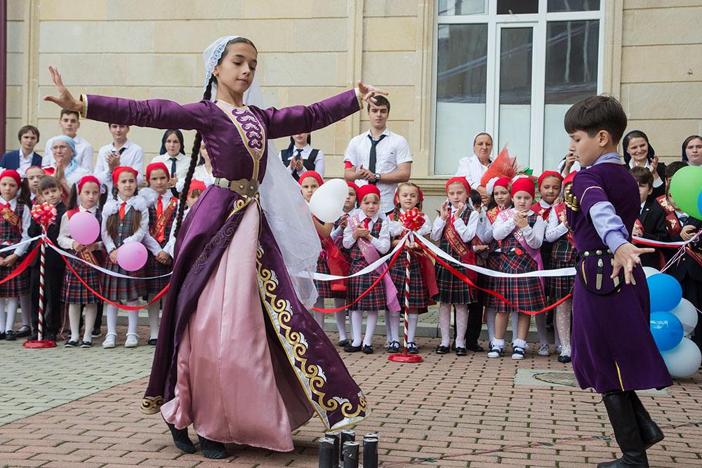 Лицей №1 им. Н.А. Назарбаева в Грозном