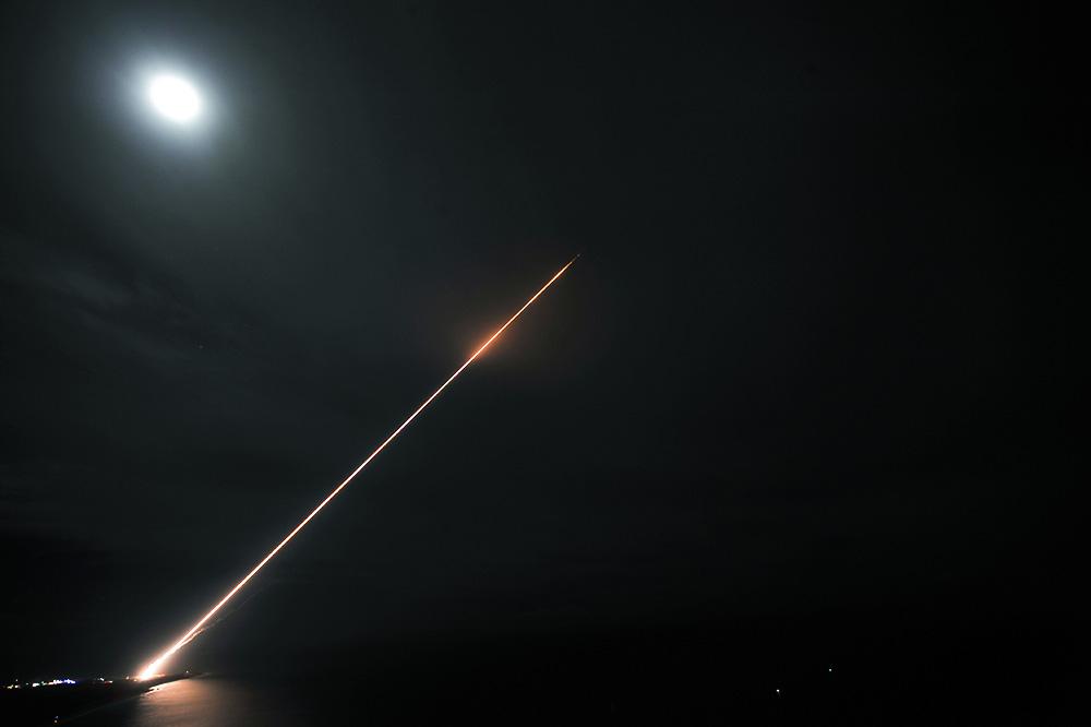 Испытания противоракетной системы THAAD в Мэриленде в 2011 году