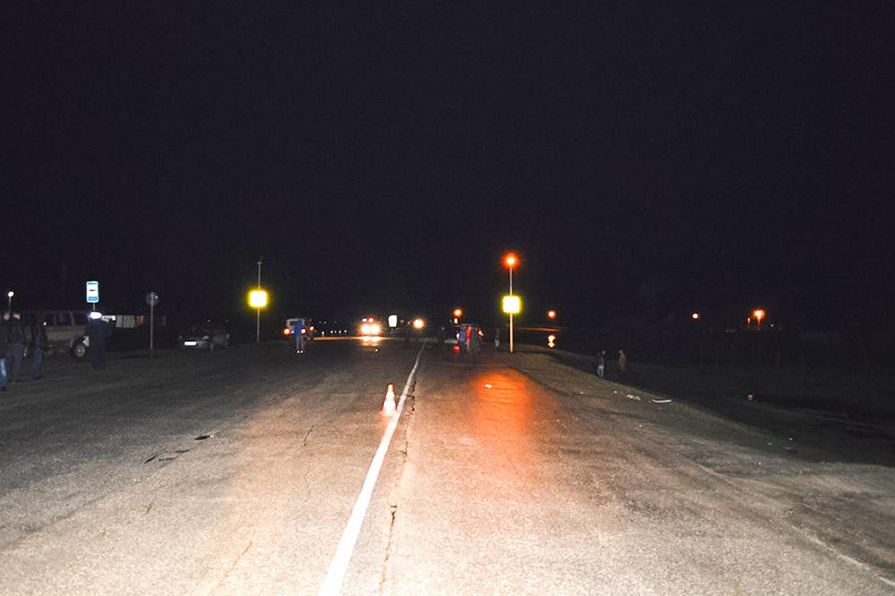 Место происшествия на трассе Якутск — Намцы