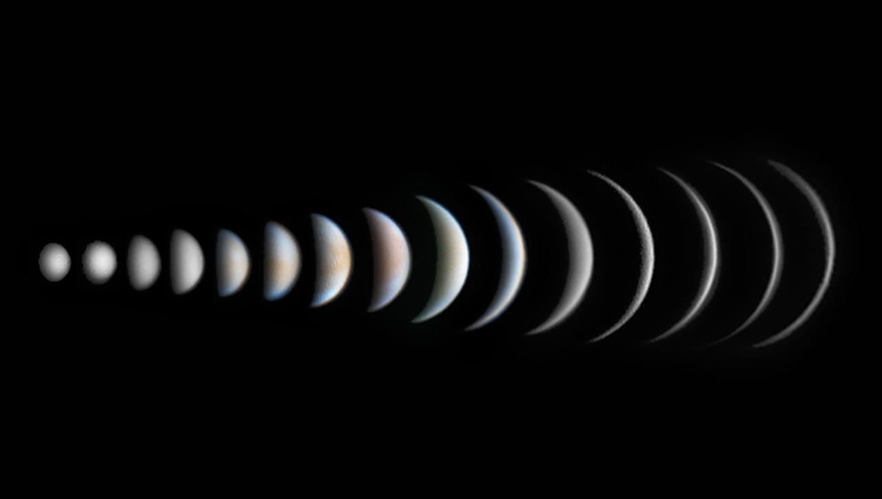 Победитель в категории «Планеты, кометы и астероиды»: Фазы Венеры
