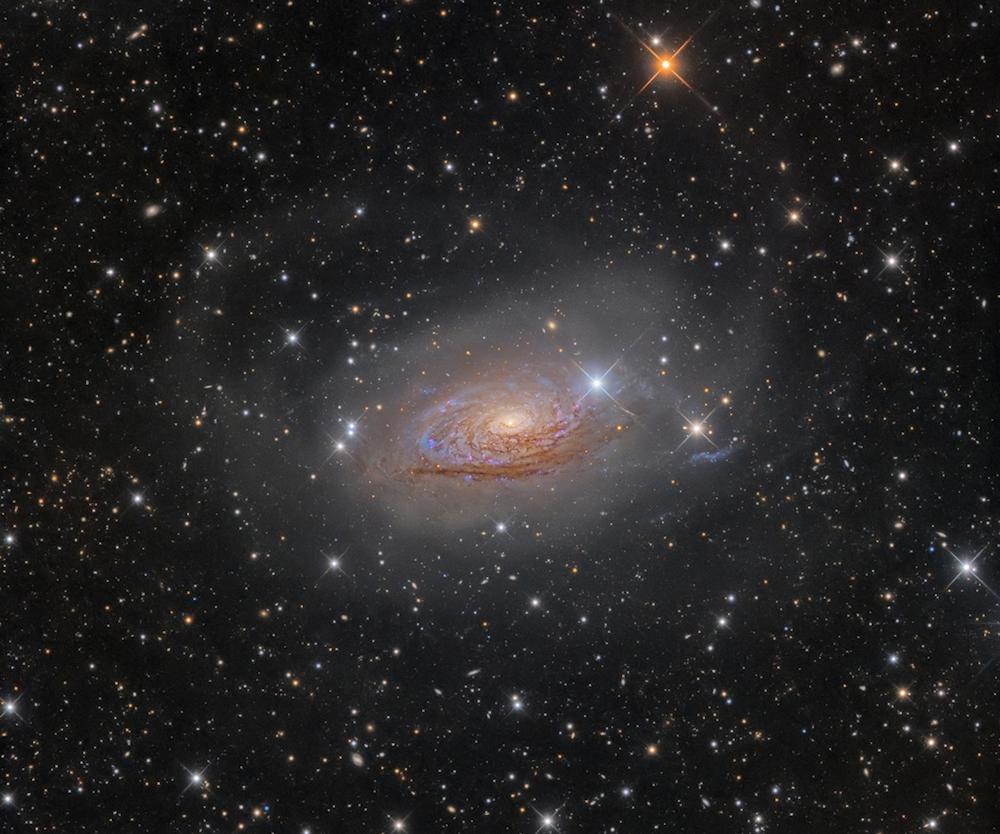 Победитель в категории «Галактики»: М63, звездные потоки и Солнечная галактика