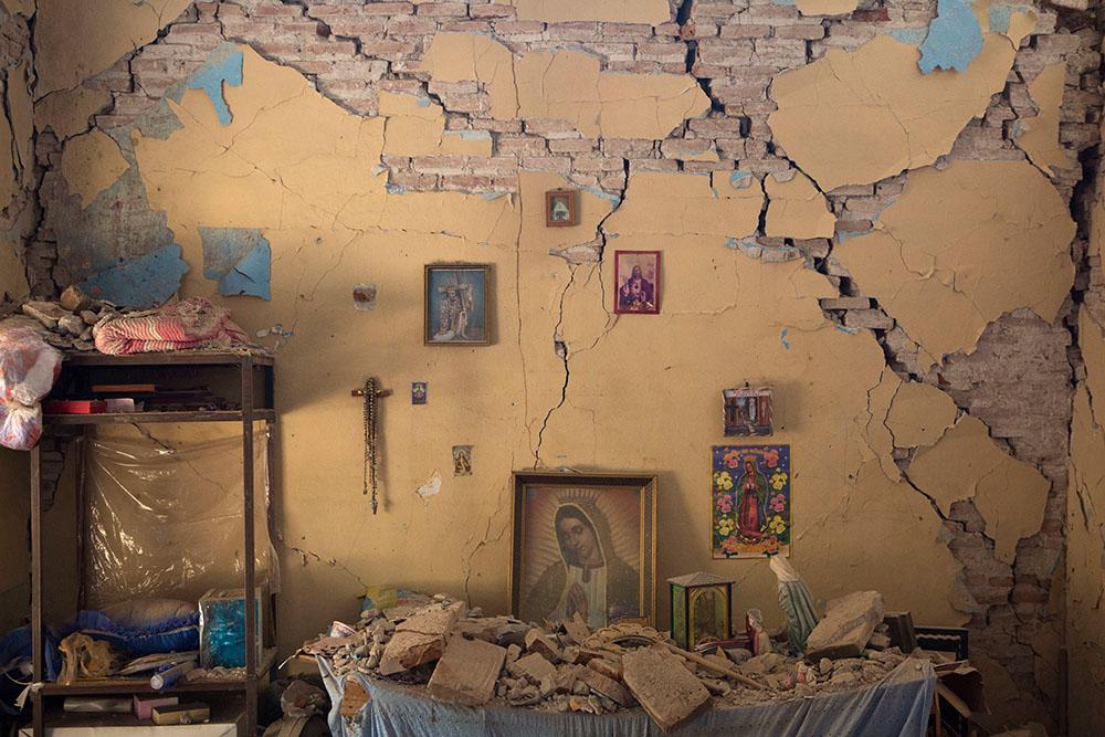ВМексике случилось  землетрясение магнитудой 7,4