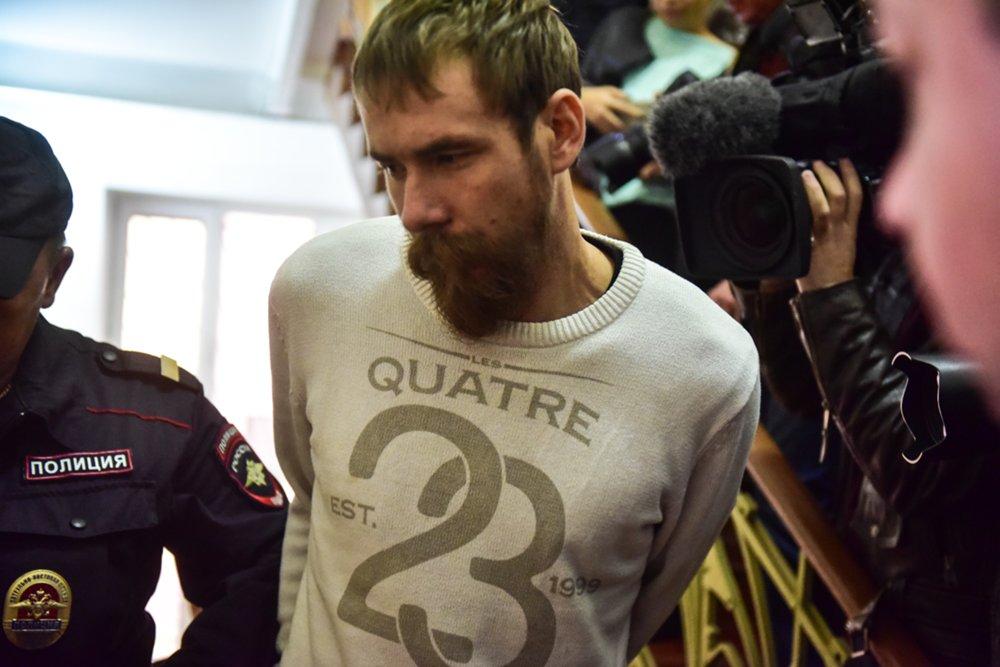Активист «Христианского государства» Александр Баянов