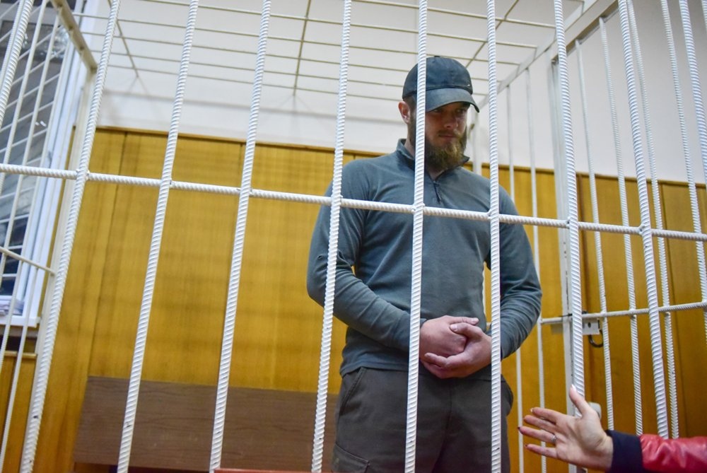 Активист «Христианского государства» Юрий Калинин