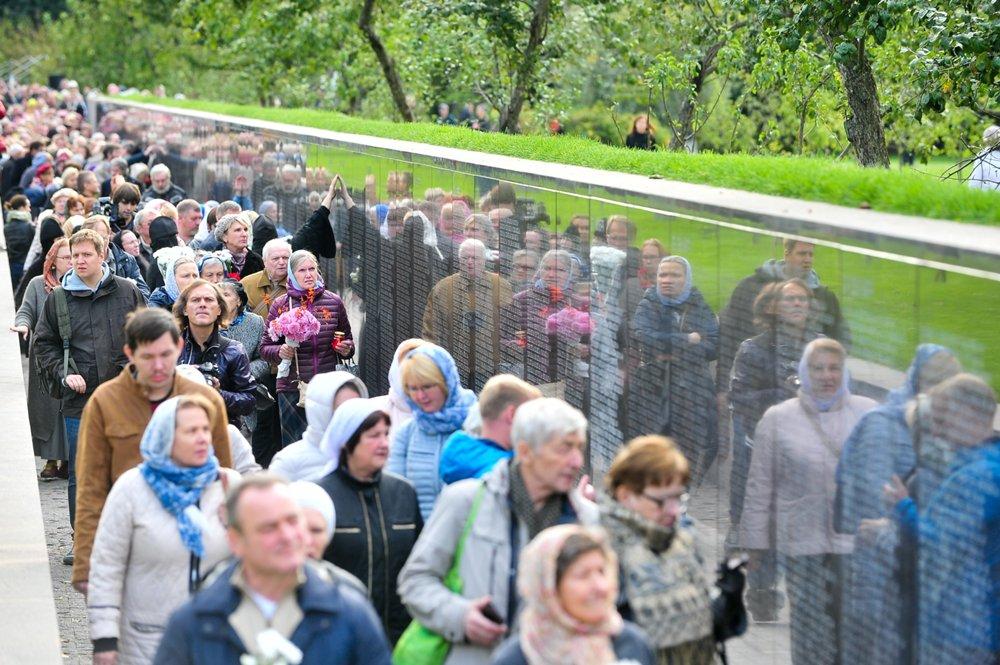 НаБутовском полигоне открыли мемориал, посвященный жертвам политрепрессий