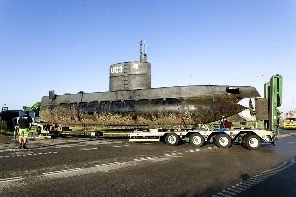 Подводная лодка Nautilus Петера Мадсена