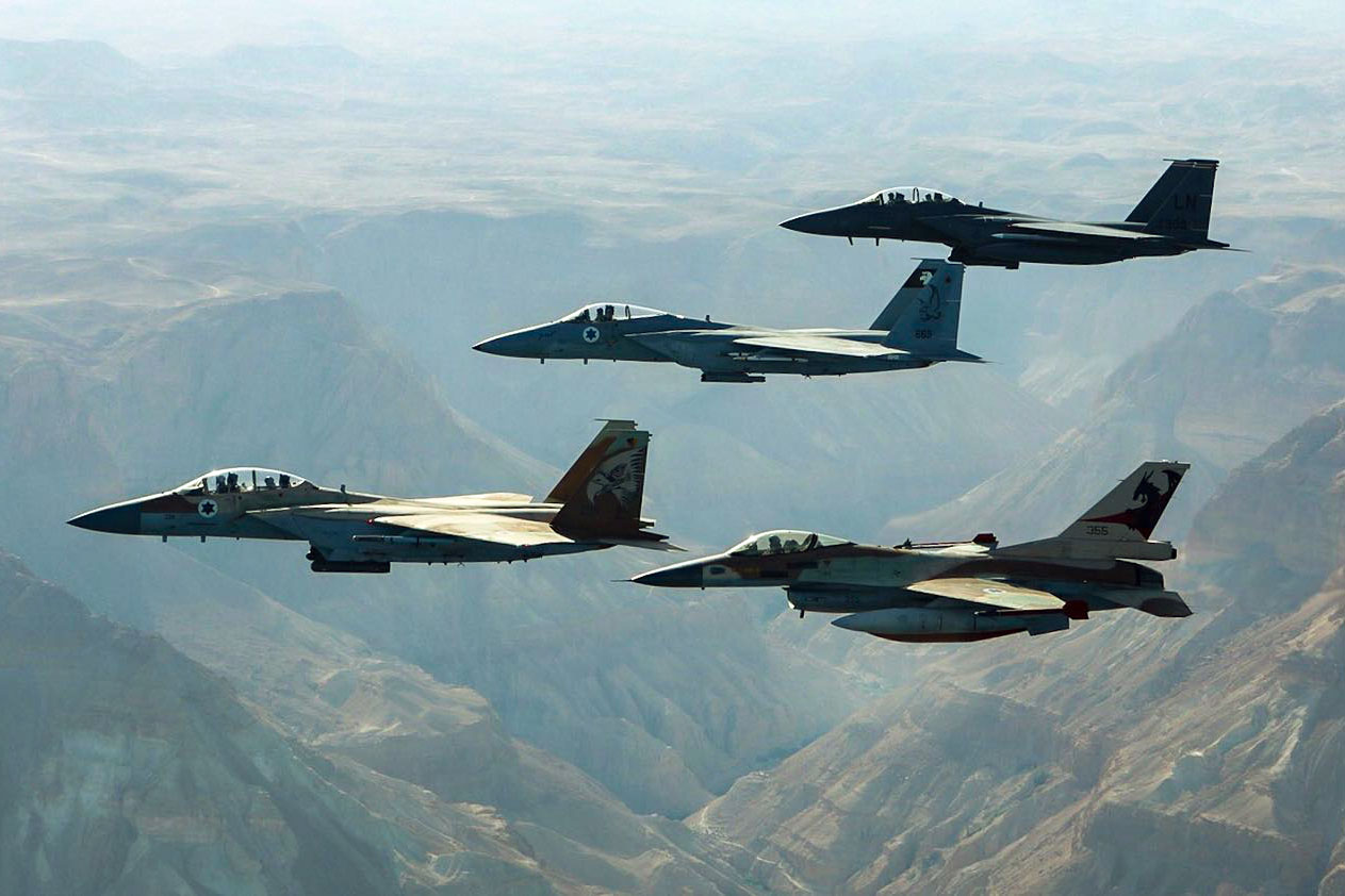 ВВС Израиля атаковали батарею ПВО Сирии квостоку отДамаска