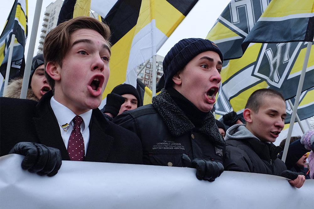 Наакции «Русского марша» вЛюблине задержали порядка 70 человек