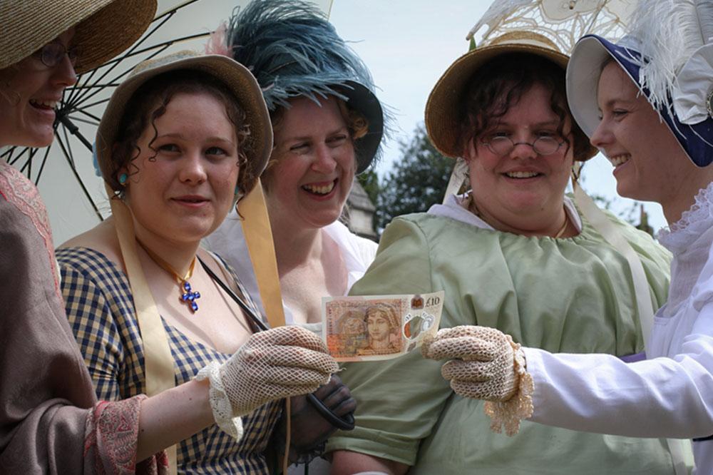 Презентация новой купюры в £10 с портретом Джейн Остин