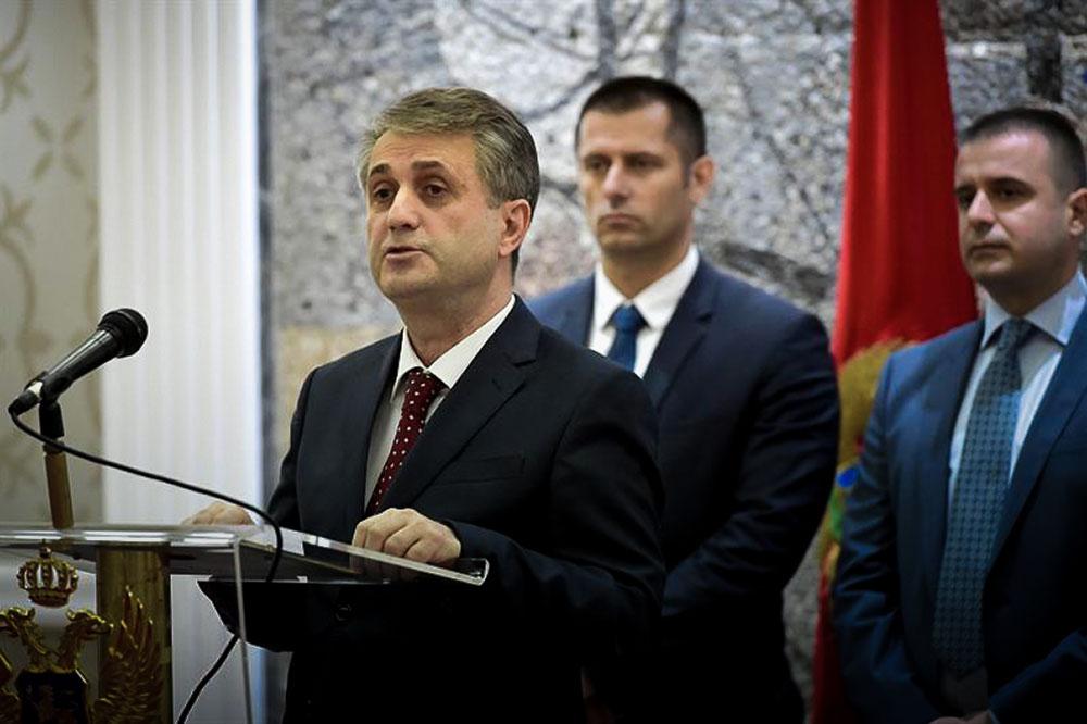 Глава МВД Черногории Мевлудин Нуходжич