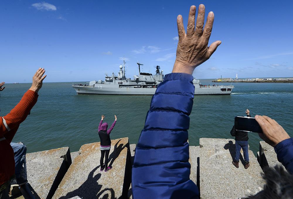 ВМС Аргентины проинформировали о взрыве врайоне пропажи подлодки