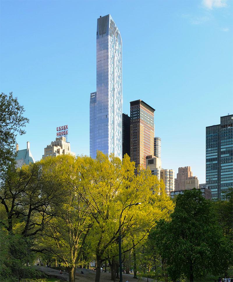«Дом миллиардеров» у Центрального парка