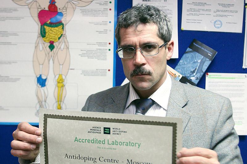 Директор московской антидопинговой лаборатории в 2006-2015 годах Григорий Родченков