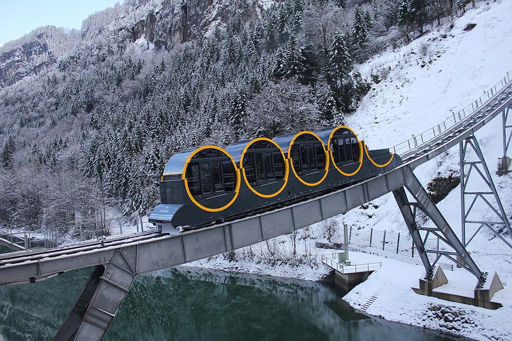 Самый быстрый вмире горный подъемник заработал вШвейцарии