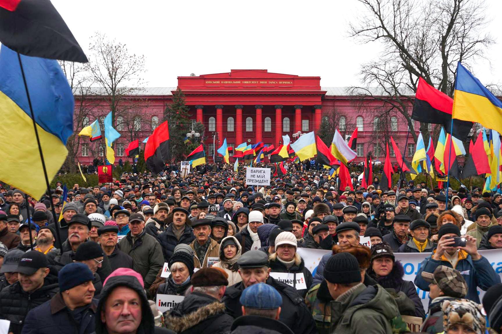 Нацгвардия Украины уточнила число пострадавших уОктябрьского замка служащих