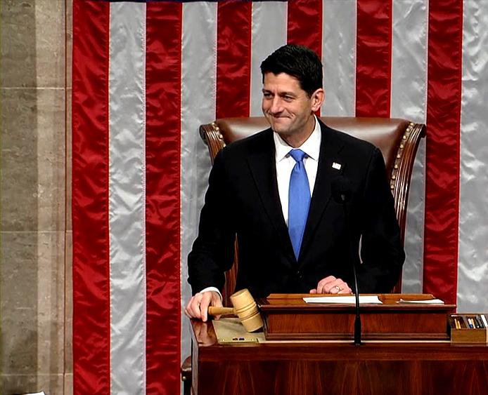 ВСША конгрессмены приняли проект налоговой реформы