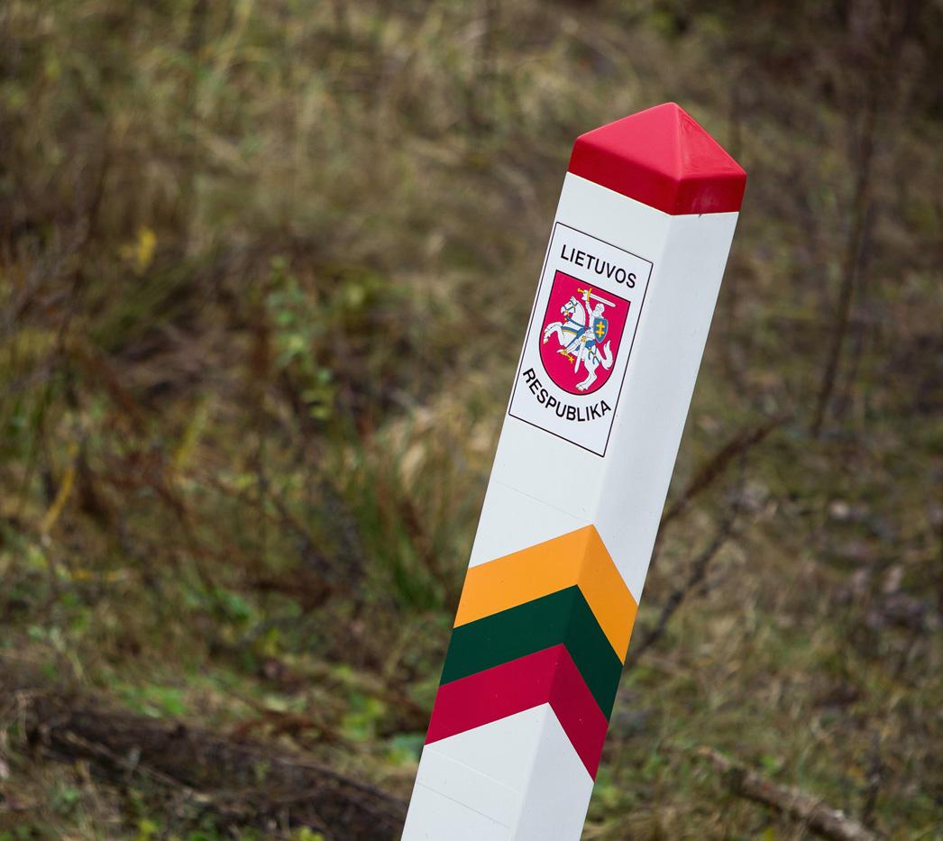 Литва иРФ подписали документы одемаркации госграницы
