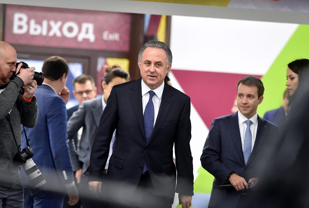 Мутко остановил деятельность напосту руководителя РФС