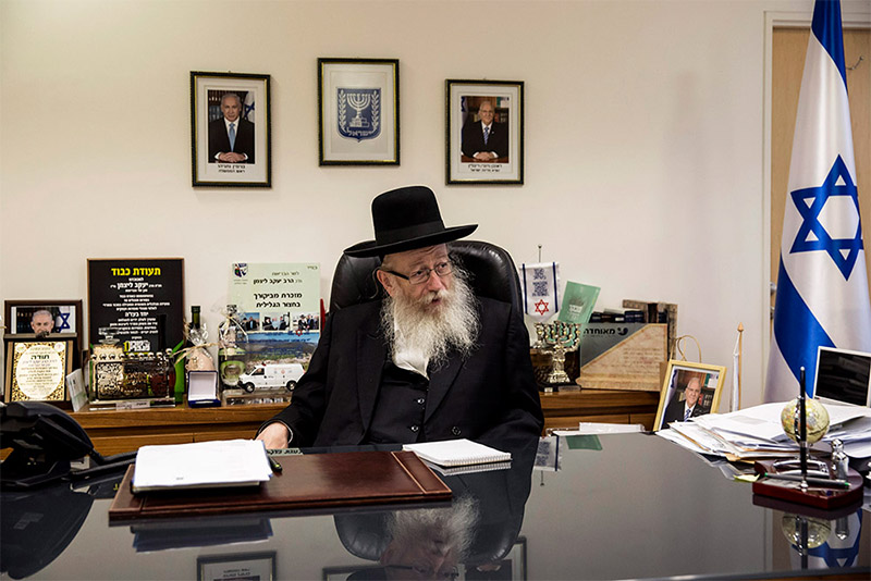 Бывший здравоохранения Израиля Яаков Лицман