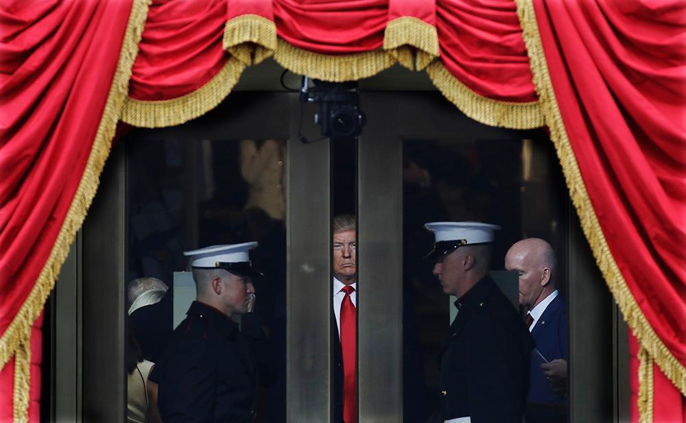 20 января, Вашингтон. Дональд Трамп перед президентской инаугурацией