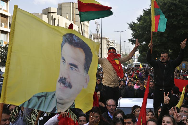 Демонстрация курдов