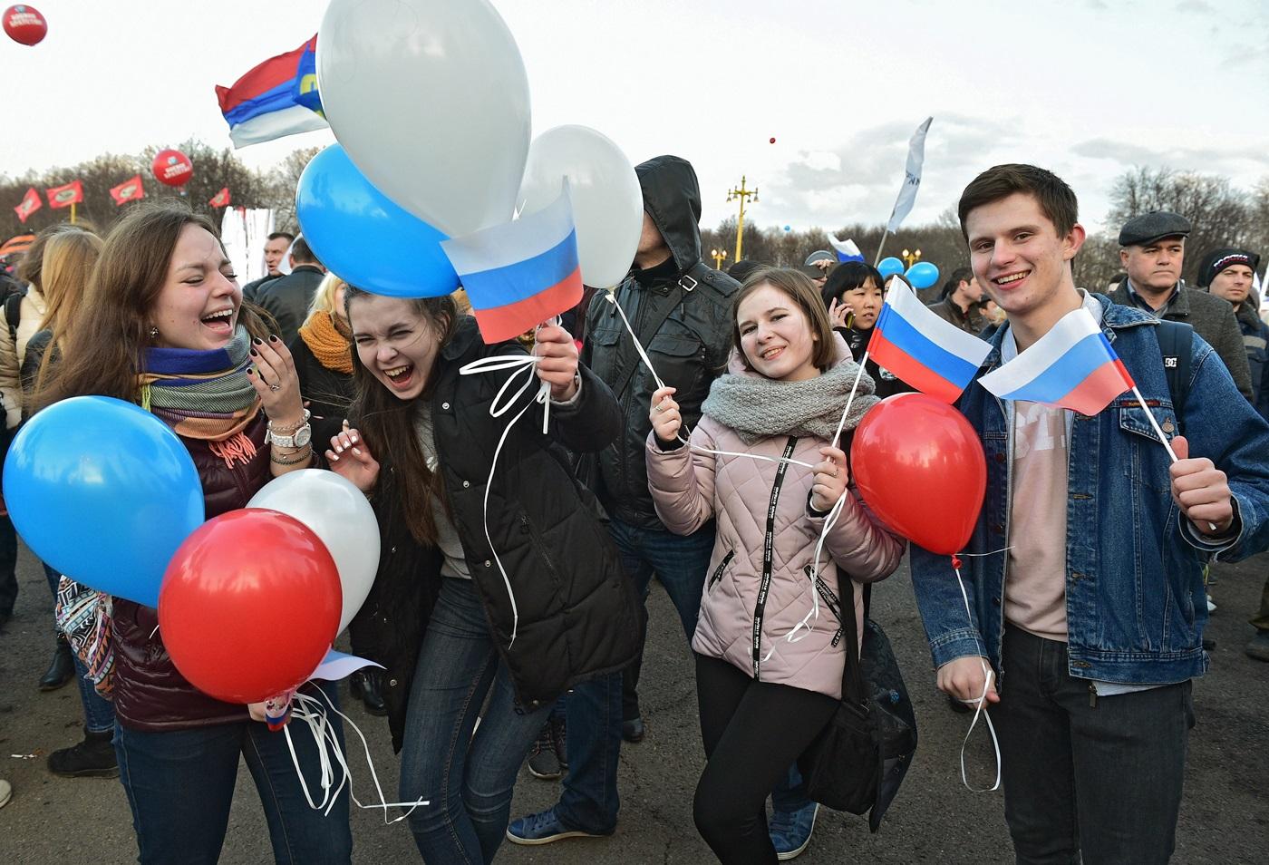В РФ пройдут патриотические митинги вподдержку В.Путина
