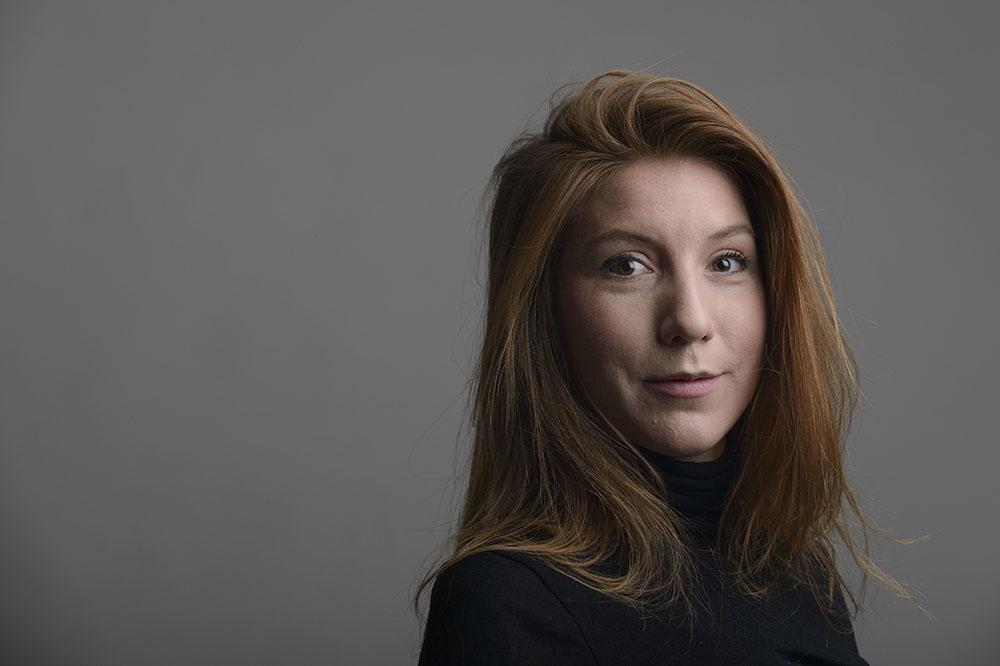 Шведская журналистка Ким Валль